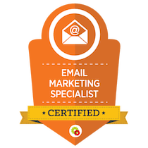 Email Marketing Specialist Certification